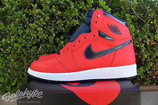 NIKE AIR JORDAN 1 RETRO HI OG GS I SZ 6 Y DAVID LETTERMAN CRIMSON 575441 606