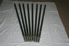 8 GFK Zaunpfähle Zaunpfahl Tarnnetzstangen Rohr Kunststoffpfahl Kunststoffpfähle