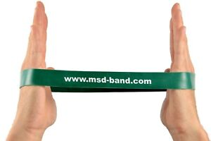 x1 Green Heavy MSD MoVeS Resistance Band Loop Exercise Strength Training