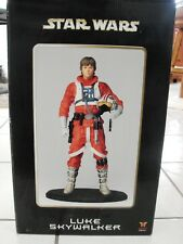 "ATTAKUS Star Wars 15"" LUKE SKYWALKER X-Wing Pilot statue Mark Hamill"