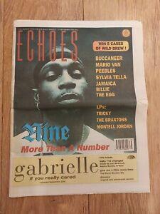 ECHOES MAGAZINE 21 SEPTEMBER 1996 NINE MARIO VAN PEEBLES SYLVIA TELLA BUCCANEER