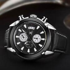 LlANDU men sport watch -quartz miyota by citizen japan chrono F1 racing lige ice