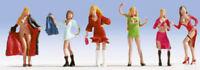 Noch OO/HO Gauge Ladies of the Night Plastic Figures 15959