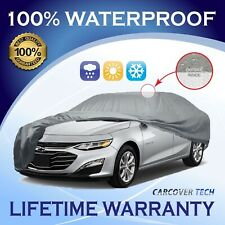 100% Waterproof/All Weatherproof Full Car Cover For Chevy Malibu [2000-2020]