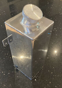 1.75L Polished Alloy Aluminium Washer Fluid Tank Water Intercooler - UK SELLER!