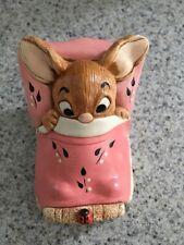 Pen Delfin ceramic rabbit bunny figurine Wakey England collectible Pendelfin