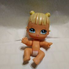"Bratz Babyz BABY Blond Molded Hair Blue Eyes Posable 4"" Tall"