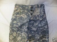 ARMY ACU DIGITAL COMBAT UNIFORM PANTS 50/50 COTTON  RIP-STOP Medium Short #84