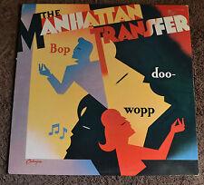 "The Manhattan Transfer / Bop Doo Wopp / 1984 Atlantic Records 12""LP"
