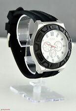 NWT GUESS Pristine Limited Watch Black Rubber New U0674G3 Pristine Fresh
