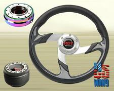 Tunning Racing Steering Wheel+Neo Chrome Release+Hub for Civic Accord Prelude