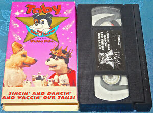 Toby Terrier And His Video Pals Singin' And Dancin' And Waggin' Our Tails! VHS