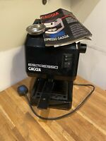 Vintage Gaggia Espresso Machine With 2 Basket & Manual