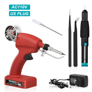 80W Soldering iron Kit Automatic Welding Tool Adjustble Temperature Solder Gun