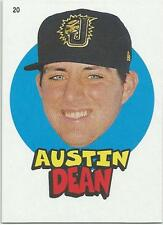 Austin Dean Miami Marlins 2016 Topps Heritage Minors '67 Topps Stickers