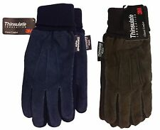 3 M Jaclyn Smith Leather Driving Thinsulate Insulation Comfort Suede Gloves