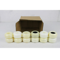 BLEMISHED Box of 54mm White Wheels - 12 Wheels in Box