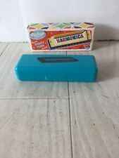 Ridley's HONKY TONK Sound Metal Harmonica With Case~NEW