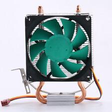 NEEDCOOL N5 3 Pin 2 Heatpipe CPU Cooler Fan & Heatsink for LGA 775 115X 1366 AMD