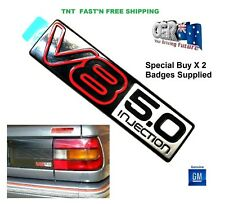 Boot Garnish Badge Suits Holden Commodore VN SS 5.0l 92035338 Genuine