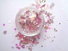 3G Nouveau Nail premezclada Acrílico Polvo-Interamericano Estilo-Rosa mezcla de romance