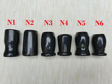 Natural Dark Horn Shaving Brush handle only! High Quality. Excellent DIY project