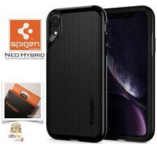 "Custodia per Apple XR iPhone 6.1"" (2018) Cover originale Spigen NEO HYBRID Black"