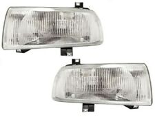 93 94 95 96 97 98 99 Jetta Left & Right Headlight Headlamp Lamp Light Pair L+R