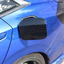 Carbon Fiber Style Fuel Filler Gas Cap Cover Trim For Honda Civic 2016-2018