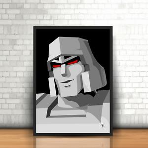Megatron, The Transformers - Original Art - Poster Print