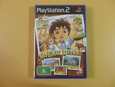 Go Diego Go Safari Rescue Sony Playstation 2 PS2 PAL FACTORY SEALED Complete