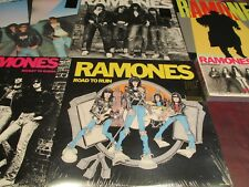 THE RAMONES LIMITED EDITION FOUR 180 GRAM LPS + PLEAST & ANTHOLOGY CDS