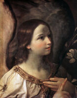 Oil painting Salome Guido Reni -  Angel of the Annunciation by Guido Reni canvas