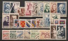 PROMOTION SUR ANNEE COMPLETE NEUVE XX 1953 TIMBRES LUXE - COTE 197 EUROS