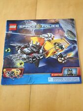 2009 LEGO Space Police 5972 Instruction Assembly Manual Booklet Only - No Pieces