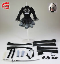 Tf Toys Tf01 1/6 Sexy Female Clothing Dress Stockings W Head Carved Model Toy