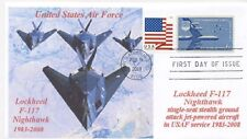 F-117 NIGHTHAWK Stealth Fighter US Air Force ColorPhotoCachet First Day of Issue