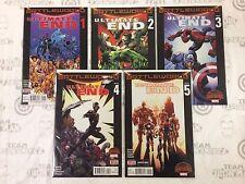 Ultimate End #1-5 Comic Book Set Marvel 2015 - Battleworld Secret Wars