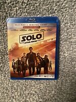 SOLO A STAR WARS STORY Blu-ray/Digital Code NEW SEALED