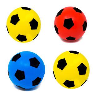 Pack of Four 17.5cm E-Deals Soft Foam Football - Ideal for schools, nurseries