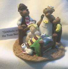 "1999 Coyne's & Company Little Street Collection ""Goldilocks & the Three Bears"""