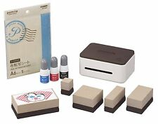 Casio stamp maker Pomrie Special Set STC-W10-SET Wi-Fi/USB support - from Japan