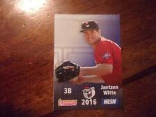2016 PAWTUCKET RED SOX Dunkin Donuts Single Cards YOU PICK FROM LIST $1-$3 OBO