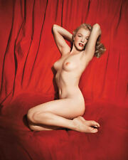 Marilyn Monroe Playboy 1953 Photo Shoot 10x8 Photo