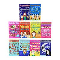 Jacqueline Wilson 10 Books Young Adult Collection Paperback Set - 9780857536150