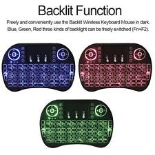Mini 2.4G Backlit Wireless Touchpad Keyboard Air Mouse For TV Box PC Pad Android