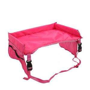 Waterproof Baby Car Seat Organizer Tray Stroller Kids Toy Food Holder Desk Table