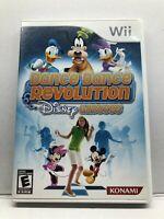 Dance Dance Revolution: Disney Grooves (Nintendo Wii, 2009) Complete Tested