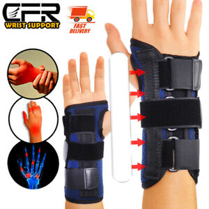 Wrist Hand Brace Support Splint Carpal Tunnel Sprain Arthritis Sports Left Right
