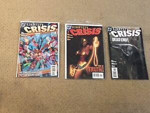 Identity Crisis Comic Lot (5 Comics- Some Consecutive!!)